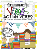 Grammarific: Action Verbs Interactive Notebook Pages