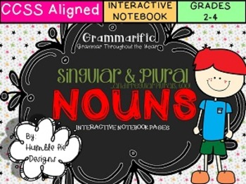 Grammarific: Singular, Plural, and Irregular Nouns Interac