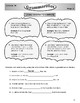 Grammarifics Lesson 10, The Haunted Adverbs Mystery