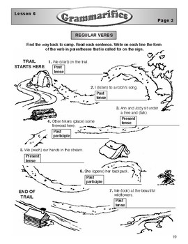 Grammarifics Lesson 6, Camping with Verbs