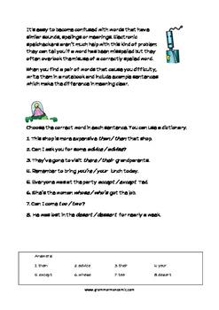 Grammarman comic 04