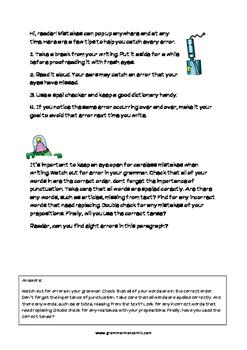 Grammarman comic 01