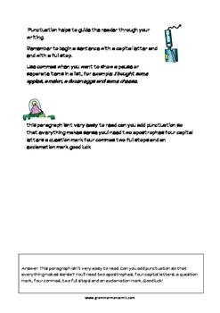 Grammarman comic 03