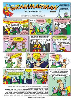 Grammarman comic 05