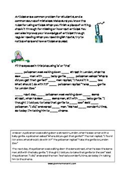 Grammarman comic 06