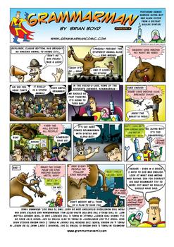 Grammarman comic 09