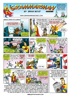 Grammarman comic 10
