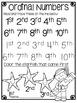 Grammatack Comics! Grammar Fun {Ordinal Numbers} Grades 1-2