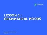 Grammatical Moods PowerPoint