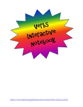 Grammer Interactive Notebook - Verbs