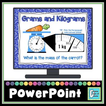 Grams, Kilograms, Liters, and Milliliters Bundle for PowerPoint