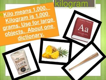 Grams and Kilograms