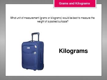 Grams and Kilograms Powerpoint