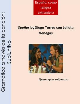 Gramática a través de la canción:Subjuntivo/cancion /Spanish song