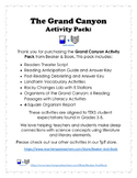 Grand Canyon Activity Pack