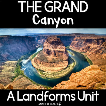 The Grand Canyon - Informational Text Close Reading Activities