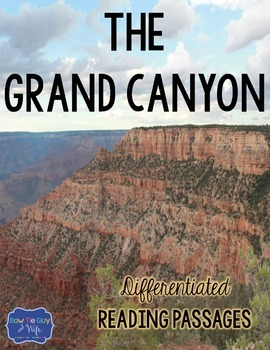 Grand Canyon Differentiated Reading Passages