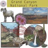 Grand Canyon National Park Clipart Set