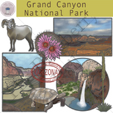Grand Canyon National Park Clipart Set