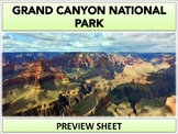 Grand Canyon National Park : Project Materials