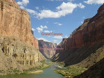 Grand Canyon Power Point - 12 Slides on History Facts Tourism Pictures