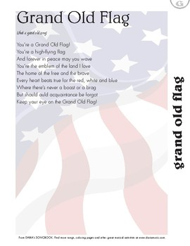 Grand Old Flag - Free Song Lyric Page