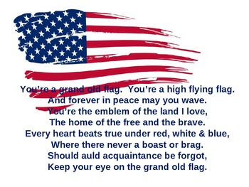 Grand Old Flag PowerPoint