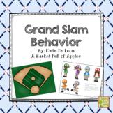 Baseball Theme Behavior Management