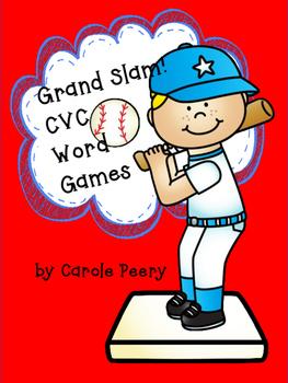 Grand Slam! CVC Word Games