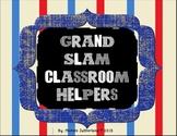 Grand Slam Classroom Helpers