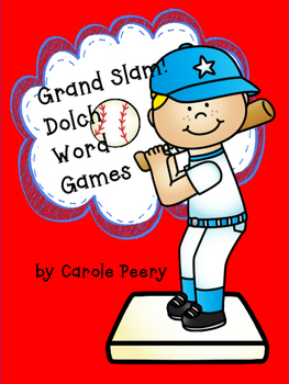 Dolch Word Games Grand Slam!