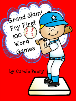 Grand Slam! Fry First 100 Word Games