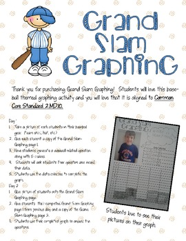 Grand Slam Graphing CC 2.MD.10