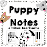Grand Staff Music Game: Puppy Notes