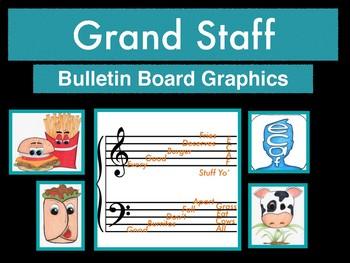 Grand Staff Bulletin Board Printables