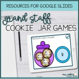 Grand Staff Cookie Jar Games Google Slides Distance Learning Music Activity
