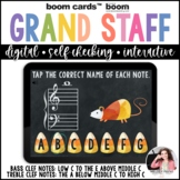 Grand Staff Note Reading for Halloween: Treble and Bass Cl