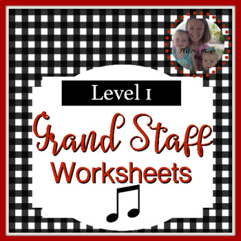 Note Name Worksheets Level 1