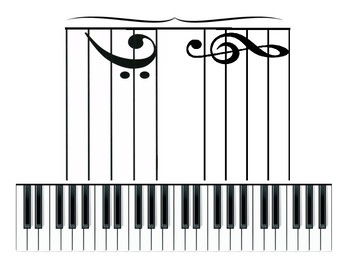 Grand Staff to Piano Keyboard EXACT