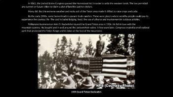 Grand Teton National Park PowerPoint for Kids