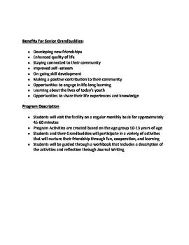 Grandbuddy Facilitator Guide- Intergenerational Program