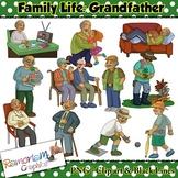 Grandfather Clip art