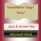 Grandfather Tang's Story, Quiz