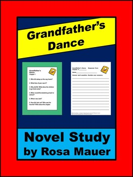 Grandfather's Dance Novel Study for  Patricia Maclachlan Book