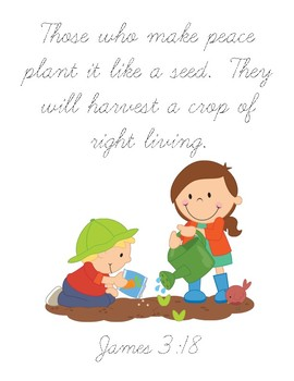 Grandfather's Journey (James 3:18) - Kids Planting Version