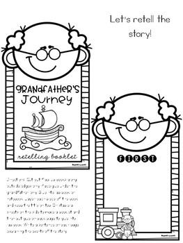 Grandfather's Journey Literature Lap Book