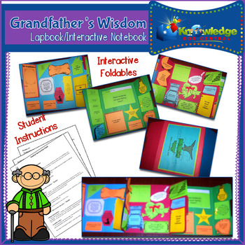 Grandfather's Wisdom Interview Lapbook/Interactive Notebook