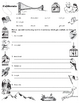 Grandfather's Journey Vocabulary Quiz