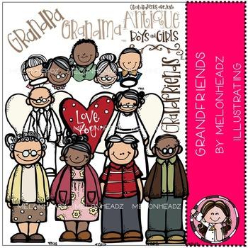 Melonheadz: Grandfriends clip art
