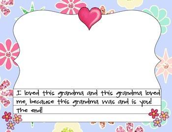 Grandma Appreciation Book